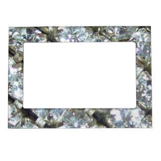 Sassy Sissy Shiny Bling Rhinestones Girly Girl Magnetic Frame