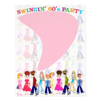 Sassy Sixties Kids! Flyer