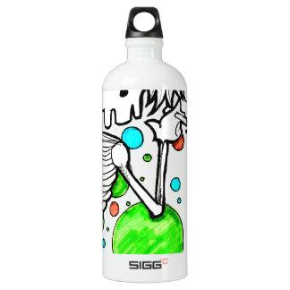 Sassy skeleton series SIGG traveler 1.0L water bottle