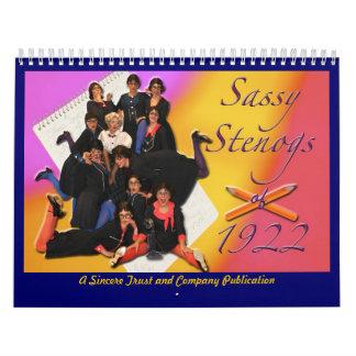 Sassy Stenogs - Customized Calendar