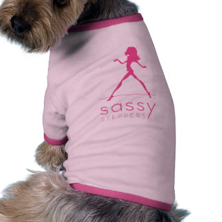 Sassy Steppers pet shirt