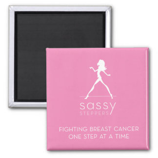 Sassy Steppers pink magnet