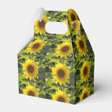 Sassy Sunflowers Favor Box