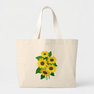 Sassy Sunflowers Tote Bag