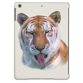 Sassy Tiger Cat Customizable iPad Air Covers