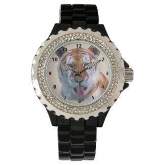Sassy Tiger Cat Wrist Watch