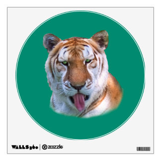 Sassy Tiger Customizable Wall Decal