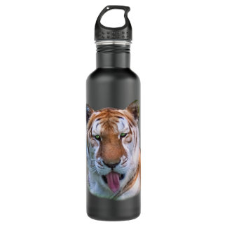 Sassy Tiger Customizable Water Bottle