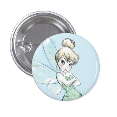 Sassy Tinker Bell Pinback Button