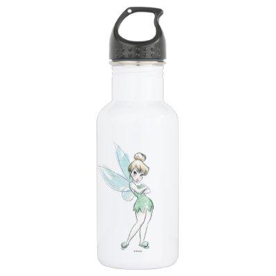 Sassy Tinker Bell Stainless Steel Water Bottle