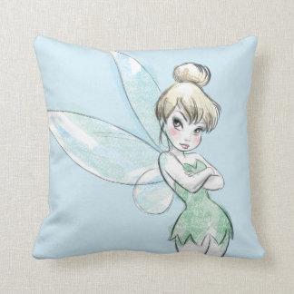 Sassy Tinker Bell Throw Pillow