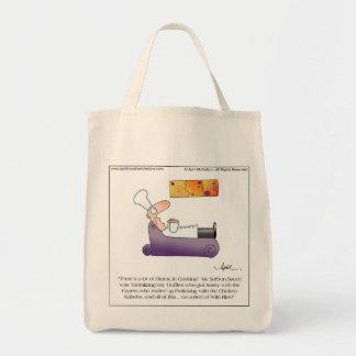 SASSY TRUFFLES Tote Bag by April McCallum