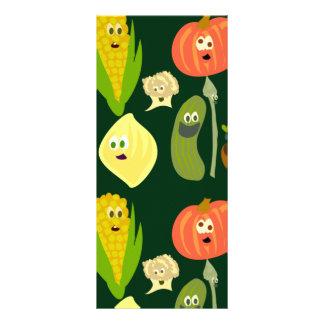 Sassy Veggies! Customized Rack Card