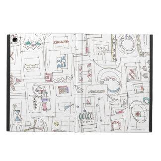 Sassy-Whimsical Pattern Print iPad Air Cover