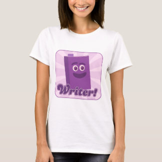 Sassy Writer Purple T-Shirt