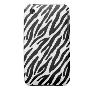 Sassy Zebra Print iPhone 3 Case