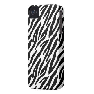 Sassy Zebra Print iPhone 4 Case-Mate Cases