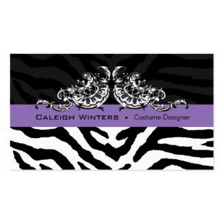 Sassy Zebra Scallop - Animal Print Designer