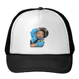 SassyPolice100111 Trucker Hat