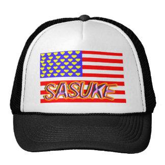 Ⅰsasuke heart trucker hat