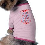 Sata T-Shirt Dog Tee