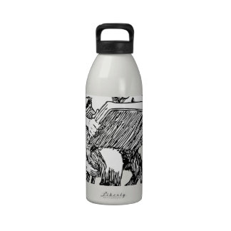 satan-1537 botellas de agua reutilizables