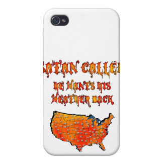 Satan Called Heat Wave 2011 iPhone 4 Cover