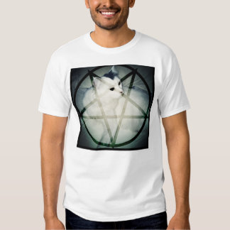 satan cat t shirt