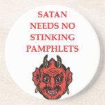satan coasters