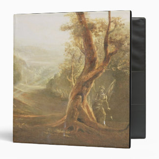 Satan Contemplating Adam and Eve in Paradise, from 3 Ring Binder