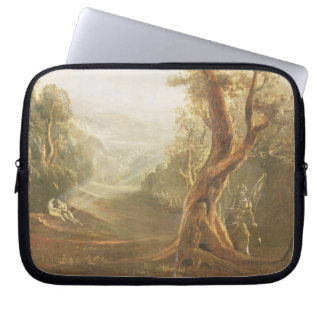 Satan Contemplating Adam and Eve in Paradise, from Computer Sleeve