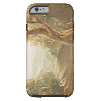 Satan Contemplating Adam and Eve in Paradise, from Tough iPhone 6 Case