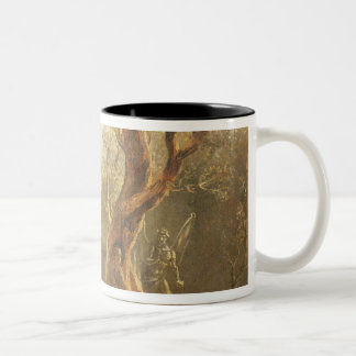 Satan Contemplating Adam and Eve in Paradise, from Two-Tone Coffee Mug
