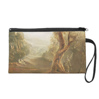 Satan Contemplating Adam and Eve in Paradise, from Wristlet