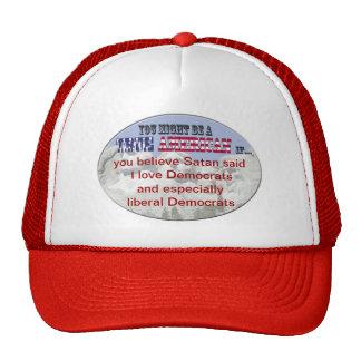 satan democrats trucker hat