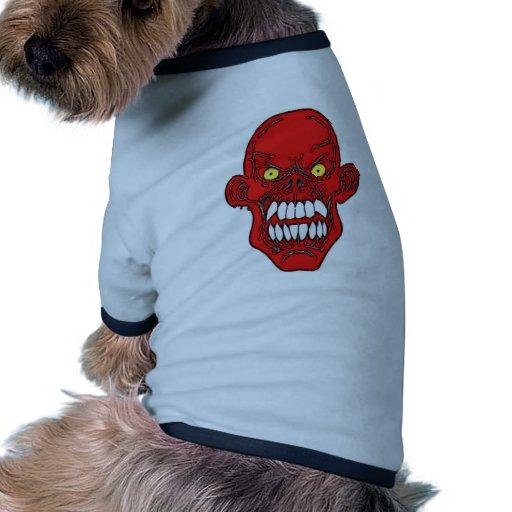 Satan Devil Art Doggie T-shirt