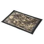 Satan Enthroned 14x20 on Woven Cotton Cloth Placemat