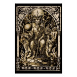 Satan Enthroned 24x36 Art Poster