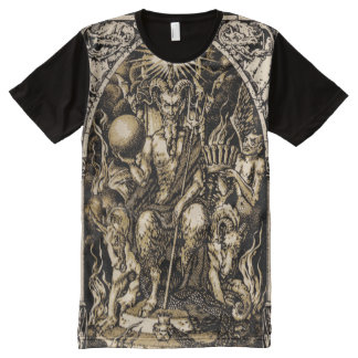 Satan Enthroned ALL OVER All-Over-Print T-Shirt