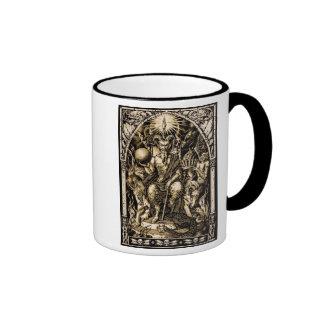 Satan Enthroned Ringer Mug