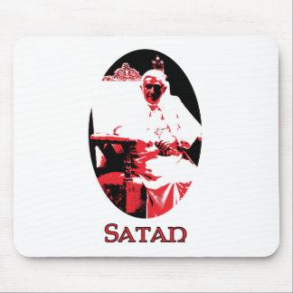 , Satan, Farce, Hypocrisy Pope Benedict XV Mouse Pad