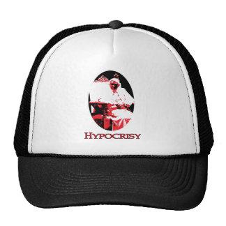 , Satan, Farce, Hypocrisy Pope Benedict XV Trucker Hat