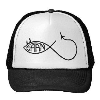 satan fish trucker hat