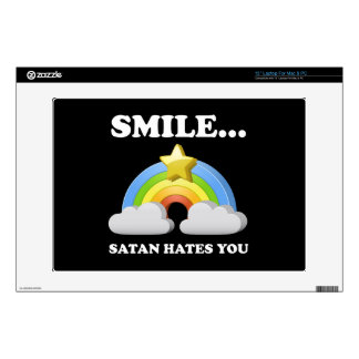 "Satan Hates You 13"" Laptop Skin"
