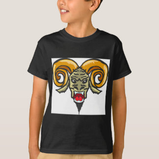 Satan Horned Beast Sketch T-Shirt