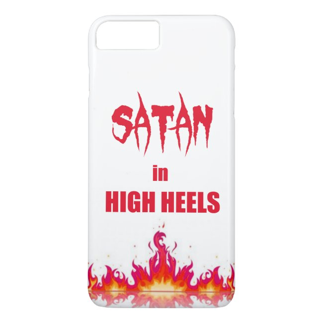 Satan in high heels | Funny quote