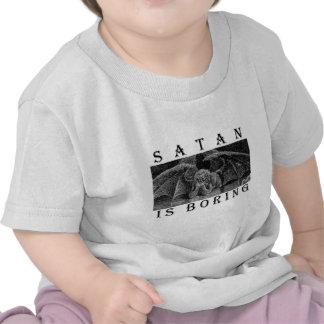 SATAN is BORING Bulk T Shirt