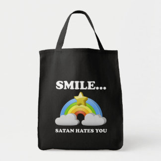 Satan le odia bolsa tela para la compra