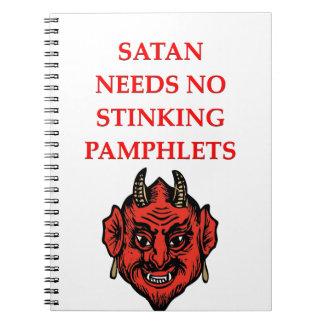 satan cuaderno