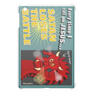 Satan Loses The Battle Christian Gift iPad Mini Cases